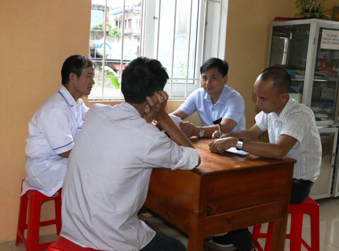 Hỗ trợ kĩ thuật trong tuần khởi liều Buprenorphine tại Thanh Hóa